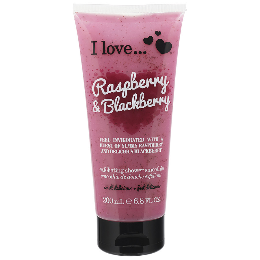 I Love Raspberry & Blackberry Exolation Shower Smoothie