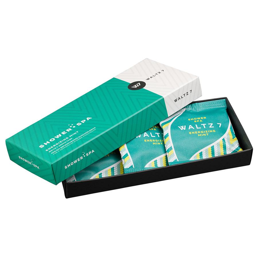 Waltz 7 Shower Tabs Energizing Mint