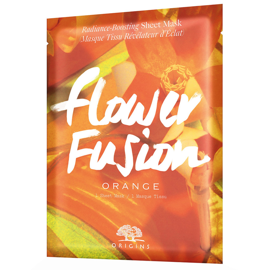Origins Flower Fusion™ Hydrating Sheet Mask – Orange Flower