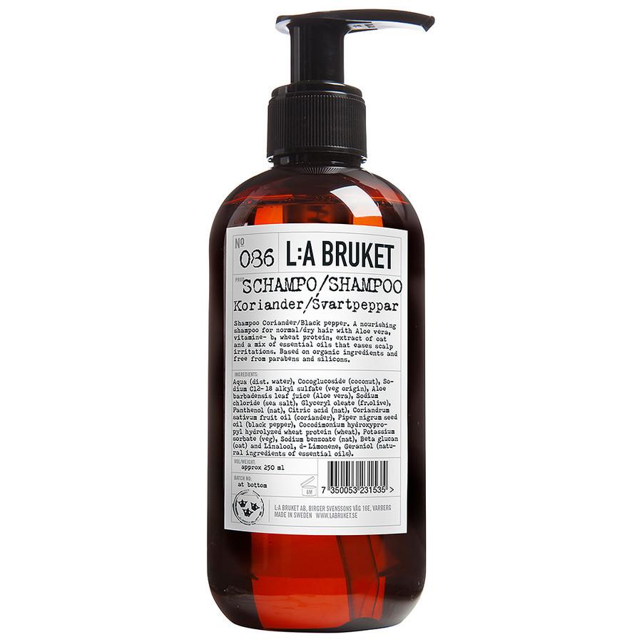 L:A Bruket No.86 Coriander/Black Pepper Haarshampoo