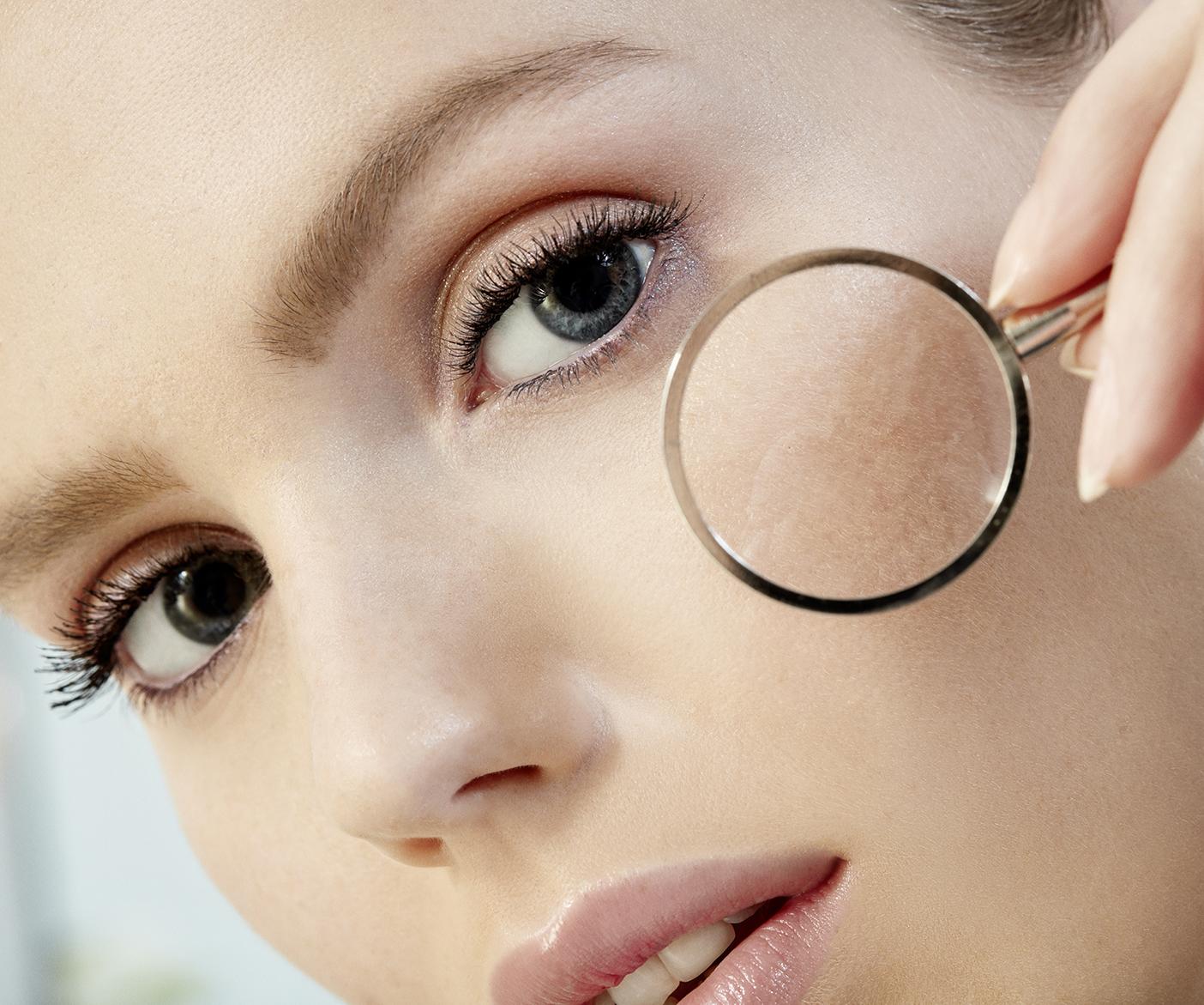 Große Poren langfristig verkleinern